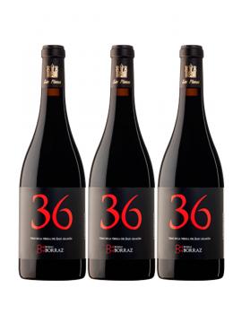 3 Botellas Vino Las Planas 36