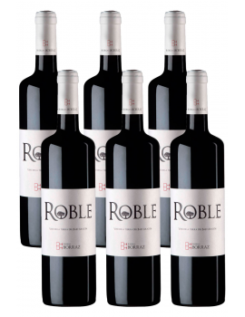 6 Botellas Vino Roble
