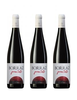 3 Botellas Vino Tinto Las Planas Joven