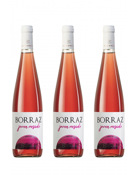 3 Botellas Vino Rosado Las Planas Joven
