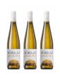 3 Botellas Vino Blanco Las Planas Joven