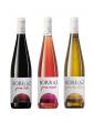 3 Botellas Vino Tinto, Rosado y Blanco Las Planas Joven