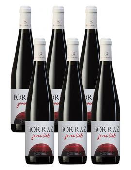 6 Botellas Vino Tinto Las Planas Joven