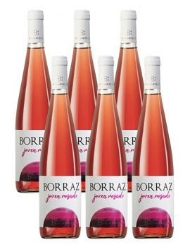 6 Botellas Vino Rosado Las Planas Joven